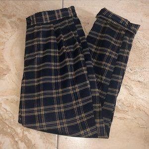 Forever 21 plaid pants